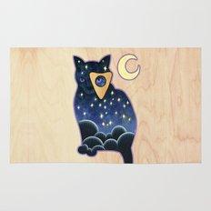 Ouija Cat Rug