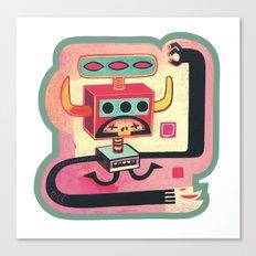 Sorcier mécanique Canvas Print