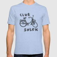 Club Solex Mens Fitted Tee Athletic Blue SMALL