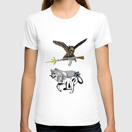 OWL WOLF ALLIANCE 3 T-shirt