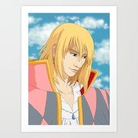 Me as Howl Art Print