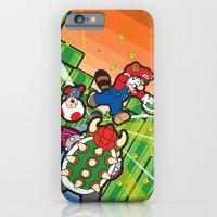 Inception Mario iPhone 6 Slim Case