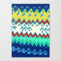 Rad Pattern Canvas Print