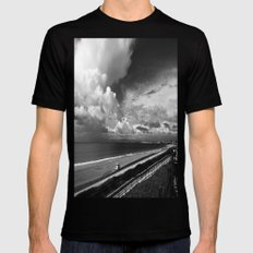 Torrance Beach SMALL Mens Fitted Tee Black