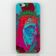 Frida Kahlo neon iPhone & iPod Skin