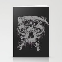 Sickle & Bone  Stationery Cards