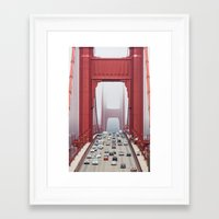 Across The Gate Framed Art Print