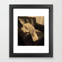 Max Framed Art Print