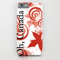 iPhone & iPod Case featuring Oh, Canada by nickcollins.ca
