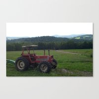 BIG TRACTOR Canvas Print