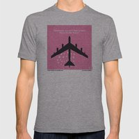 No025 My Dr Strangelove minimal movie poster Mens Fitted Tee Athletic Grey SMALL