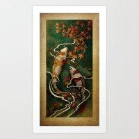 Autumn Kois Art Print