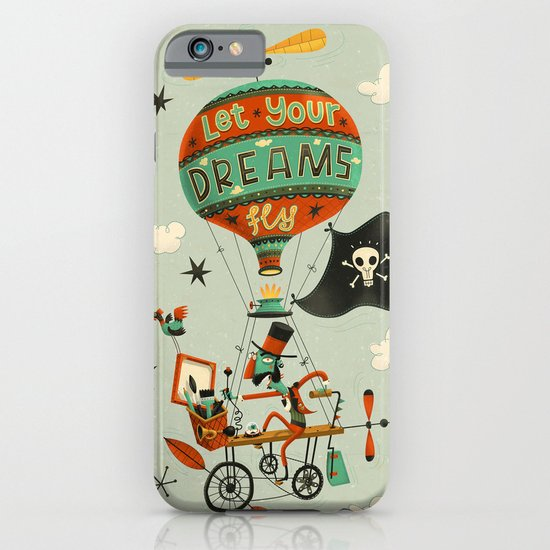 Make Your Dreams Fly iPhone & iPod Case