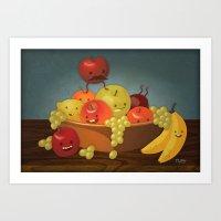 Froot Bowl Art Print
