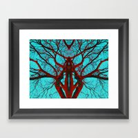 Can you believe what life can come from a tree? Framed Art Print