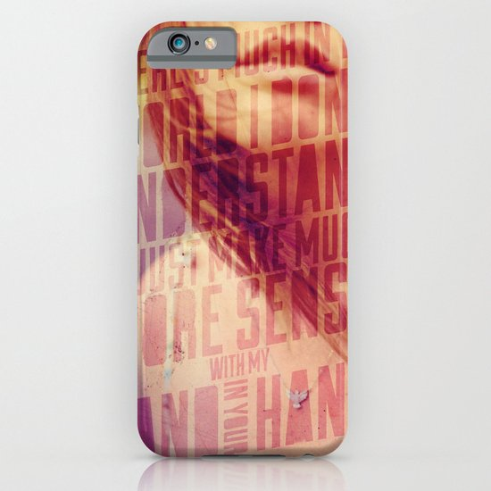 Hand in my Hand iPhone & iPod Case