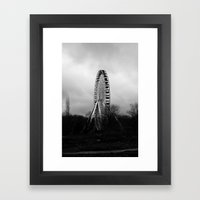 FAIRGROUND I Framed Art Print