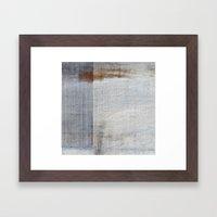 Metal Sky II Framed Art Print