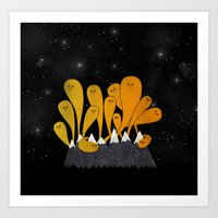 Northern Frights (Hallow… Art Print