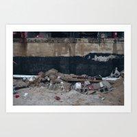 Under The Boardwalk, Aft… Art Print