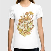 skulls T-shirts featuring skulls in spring by Teagan White