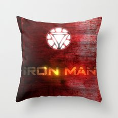 UNREAL PARTY 2012 AVENGERS IRON MAN FLYERS Throw Pillow