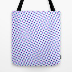 PINK & BLUE DOT Tote Bag