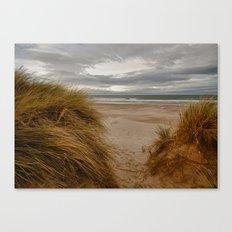 Bamburgh Beach Canvas Print