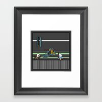 Mega Boss Battles - Dook… Framed Art Print