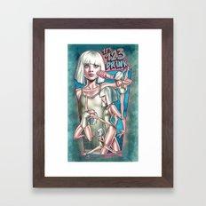 1 2 3 Drink Framed Art Print