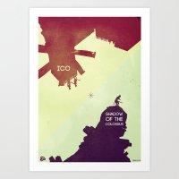 Shadow Of The Colossus &… Art Print