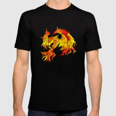 Phoenix SMALL Black Mens Fitted Tee