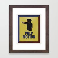 CASSANDRE SPIRIT - Pulp Fiction Framed Art Print