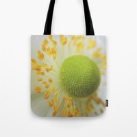 Green And Fluffy Tote Bag
