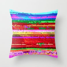 dubstep substitution Throw Pillow