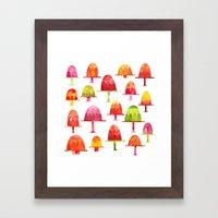 Jellies On Plates Framed Art Print