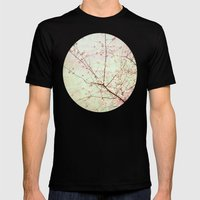 Spring Fling Mens Fitted Tee Black SMALL