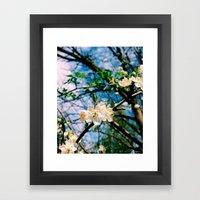 It's Just Spring Outside Framed Art Print