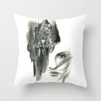 Zodiac - Scorpio Throw Pillow