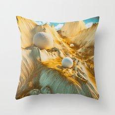 LACKADAISICAL Throw Pillow