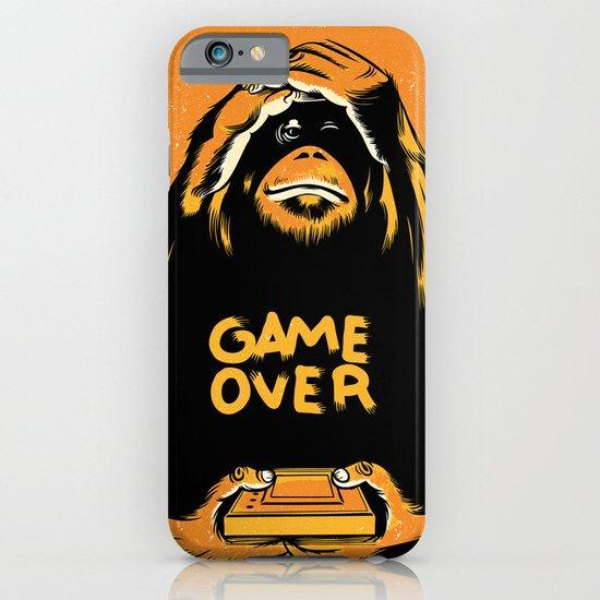 Orange Quick Foot iPhone & iPod Case