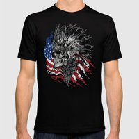 Indian Hunter Mens Fitted Tee Black SMALL