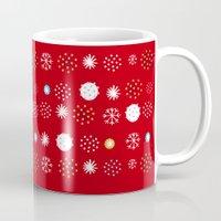 Winter Pattern4 Mug