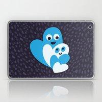 Happy Hearts Family Laptop & iPad Skin