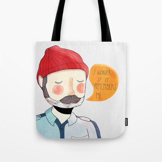 I Wonder If It Remembers Me Tote Bag