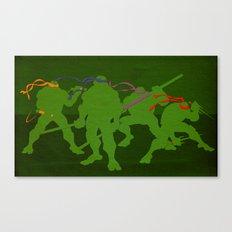 Halfshell Heros Canvas Print