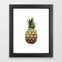 Pinipple Framed Art Print