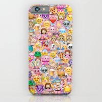 iPhone Cases featuring emoji / emoticons by Marta Olga Klara