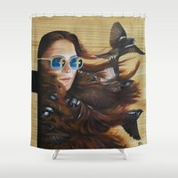 While Life Passes By Shower Curtain