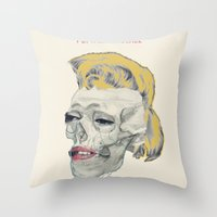Pop Will Kill Us All Throw Pillow